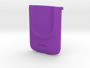 Facing Emotions Holder in Purple Processed Versatile Plastic