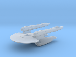 USS Newton (Discovery) - Attack Wing / 5cm - 2in in Smooth Fine Detail Plastic