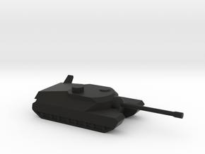 T-28 SUPERTANK in Black Natural Versatile Plastic