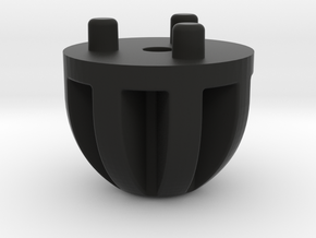 Emek/Etha 2 Bolt Cap - Afterburner in Black Natural Versatile Plastic