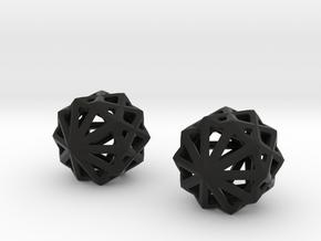Crystal X in Black Natural Versatile Plastic
