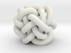 B&G Knot 14 in White Natural Versatile Plastic