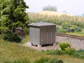 HO - Great Northern Railway - GRS CTC Bungalow in Smooth Fine Detail Plastic: 1:87 - HO