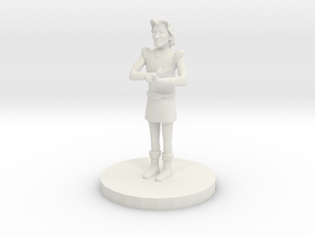 Prince Charming (28mm Scale Miniature) in White Natural Versatile Plastic