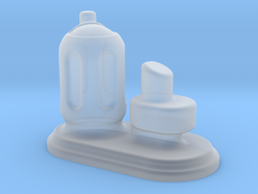 6mm Scale Small Chemical Stores in Smooth Fine Detail Plastic