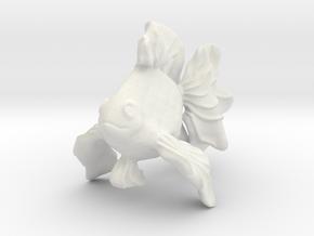 Gold Fish ( Koi ) in White Natural Versatile Plastic