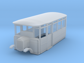 o-148fs-cdr-2-3-ford-railcar in Smooth Fine Detail Plastic