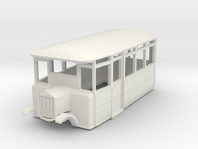 o-87-cdr-2-3-ford-railcar in White Natural Versatile Plastic