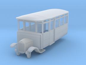 o-87-derwent-railway-ford-railcar in Smooth Fine Detail Plastic