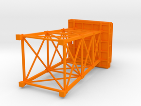 Firewatch Lookout Tower (small) in Orange Processed Versatile Plastic