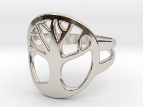 Tree of Life Ring in Platinum