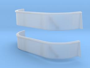 1/96 USN South Dakota 20mm tub2 Set in Smooth Fine Detail Plastic