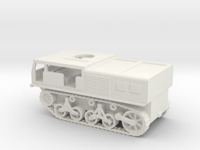 1/100 Scale M4 High Speed Tractor in White Natural Versatile Plastic
