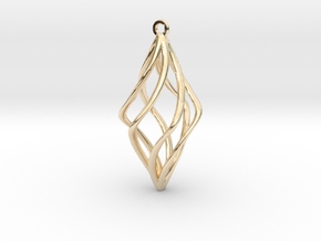Pendente in 14k Gold Plated Brass