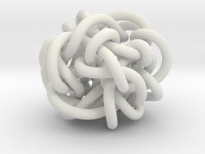 B&G Knot 11 in White Natural Versatile Plastic