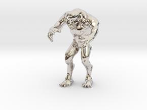 Hell knight - Doom  3 inch in Platinum