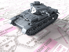 1/144 German Pz.Kpfw. IV Ausf. E Medium Tank in Smooth Fine Detail Plastic