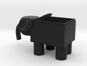 Pen holder in Black Premium Versatile Plastic: Small