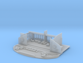 1/260 Refit Officer's Lounge in Smooth Fine Detail Plastic