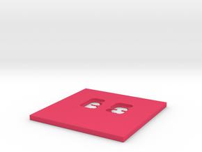 Ellie_Solomon_plate! in Pink Processed Versatile Plastic