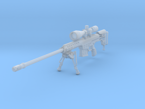 1/10th 98bgun bipod extended in Smoothest Fine Detail Plastic