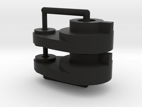 Tamiya (X2) Steering horn TA01 TA02, C9 part in Black Natural Versatile Plastic
