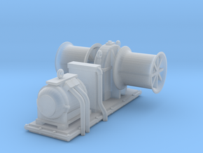 1/72 USN Winch in Smooth Fine Detail Plastic