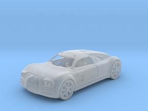 Audi Rosemeyer   1:87 HO in Smooth Fine Detail Plastic