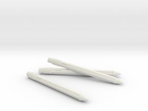 回憶鉛筆(Memories pencil) in White Natural Versatile Plastic: Medium