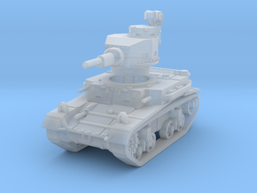 M2A4 tank scale 1/160 in Smooth Fine Detail Plastic