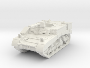 M3 Stuart Recce scale 1/100 in White Natural Versatile Plastic