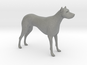 S Scale Guard Dog in Gray PA12