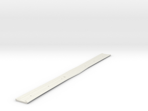 Alpha: Double Bladed Sword Hilt in White Natural Versatile Plastic