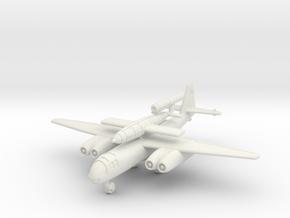 (1:200) Arado Ar 234 C/V1 Huckepack in White Natural Versatile Plastic