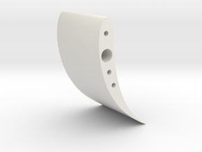 Front Wing Balance Adjusters in White Natural Versatile Plastic
