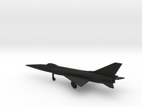 Sukhoi Su-15 Flagon-A in Black Natural Versatile Plastic: 1:200