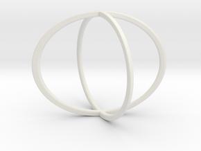 Illusion Roller 2 in White Natural Versatile Plastic