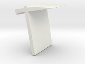 book frame in White Natural Versatile Plastic