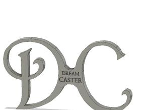 DC logo in Black PA12