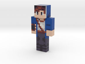 HexaBlu | Minecraft toy in Natural Full Color Sandstone