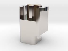 Topre to MX 6u Stabilizer Plunger (Right) in Platinum