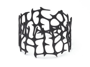 Bracelet Bluups ROOTS in Black Natural Versatile Plastic