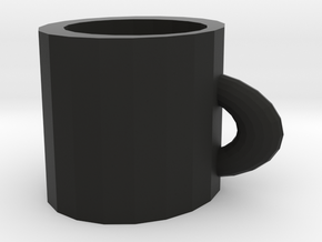 special cup in Black Natural Versatile Plastic