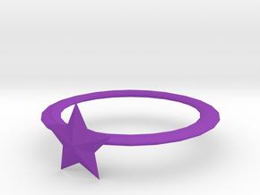 手環 in Purple Processed Versatile Plastic
