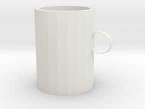 Mug in White Premium Versatile Plastic