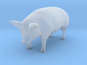 1-64 special pig in Smooth Fine Detail Plastic