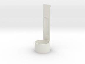 Spoon in White Natural Versatile Plastic: Small