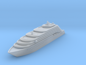 Ritz Carlton Yacht - V3 - 8cm in Smooth Fine Detail Plastic
