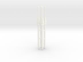 ROMAN PILUM X4 in White Processed Versatile Plastic
