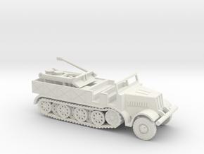 1/144 Famo Sdkfz. 9 with spade in White Natural Versatile Plastic